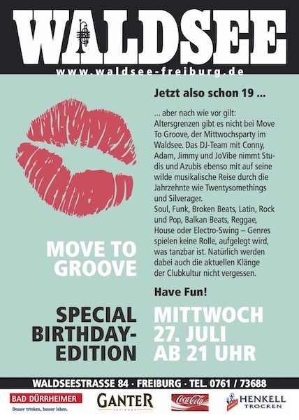 19 Jahre Move to Groove